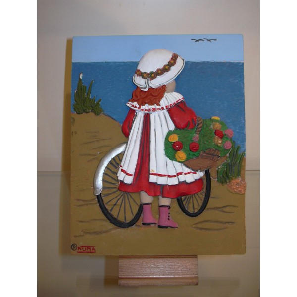 Placa ni a playa manualidades para pintar en marmolina - Pintar marcos de cuadros ...