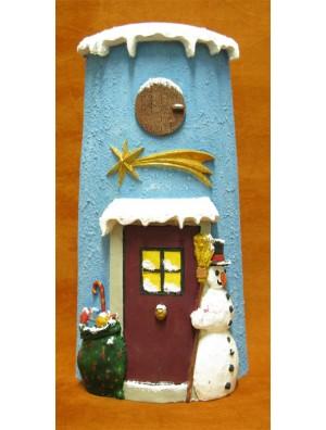 Teja muñeco Navidad