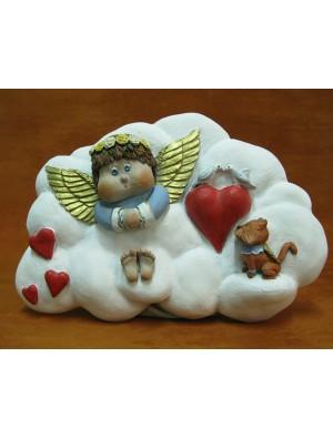 Angelito en nube